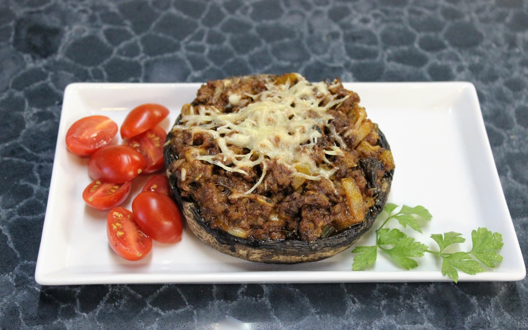 Italian Stuffed Portobello Mushrooms