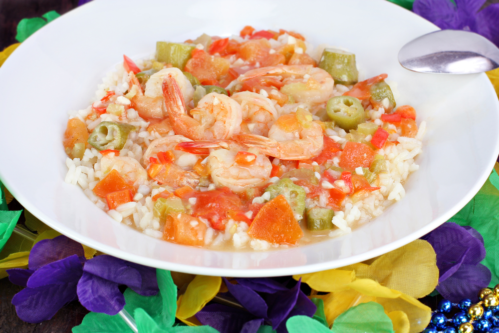 Shrimp, Okra, and Tomato Stew