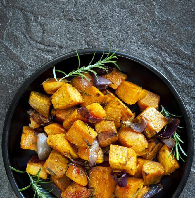 Sweet Potato Niblets
