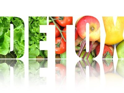 35457381 - detox text made from fruits and vegetables