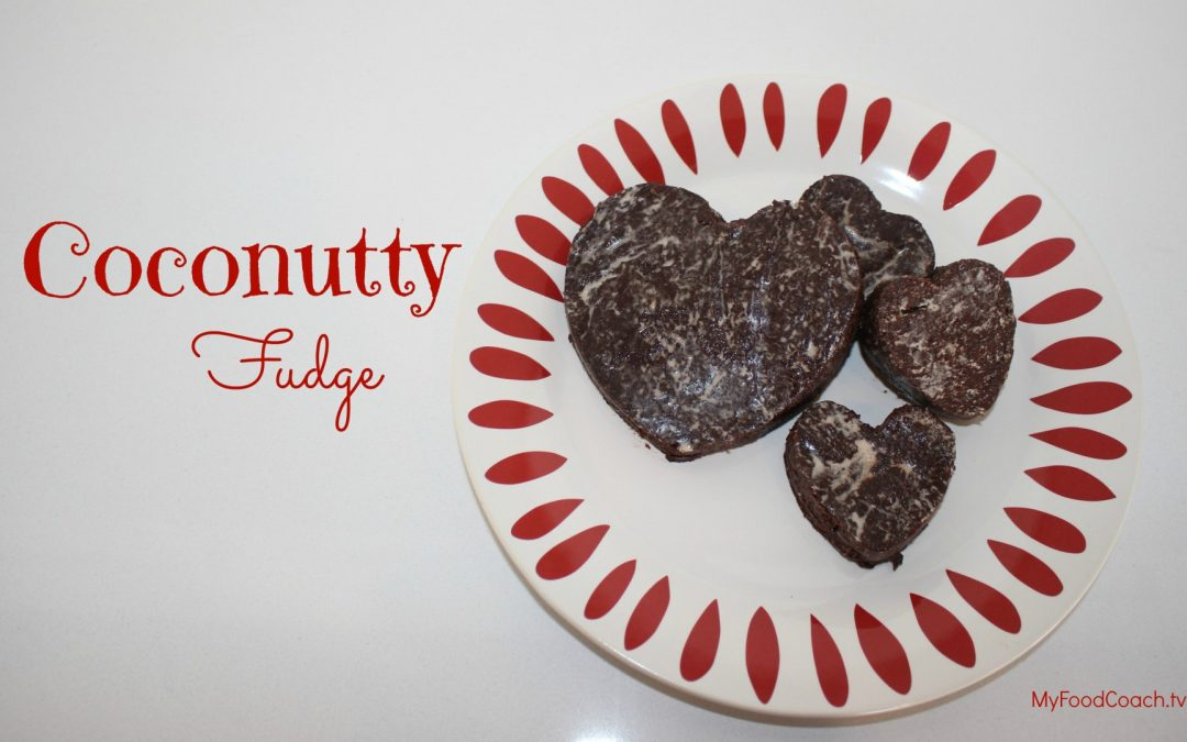 Coconutty Fudge Recipe