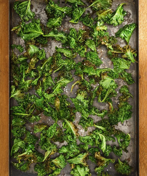 Basic Kale Chips