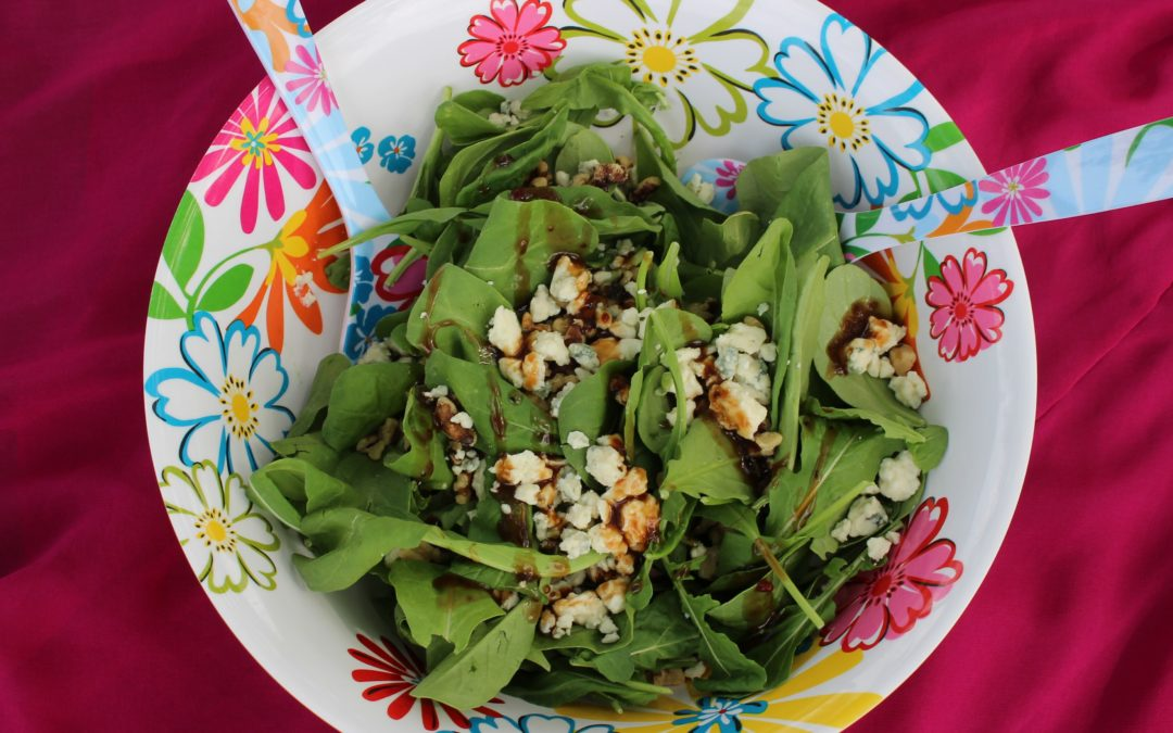 Arugula and Walnut Salad