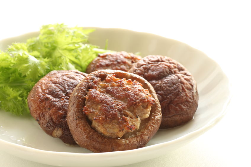 Sausage and Cranberry Stuffed Mushrooms
